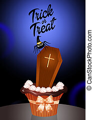 Trick or treat - Illustration of Trick or treat