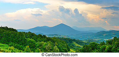Bosnia and Herzegovina mountains - Landscape with mountains...