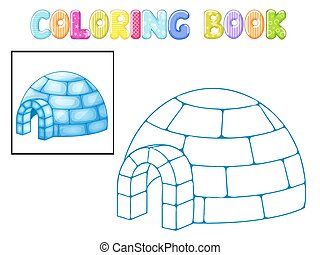 Coloring igloo