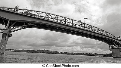 Auckland Harbor Bridge - New Zealand - AUCKLAND,NZ - OCT 13...