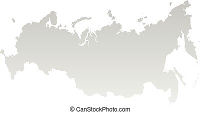 New map of the Russian Federation and Crimea - Vector map of...