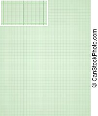 graph paper background with many small squares