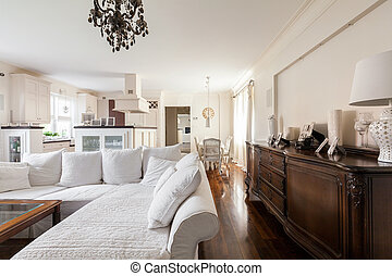 Bright living room - Photo of bright living room with...
