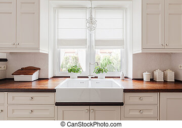 Elegant kitchen furniture - Picture of elegant kitchen...