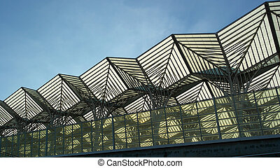 Oriente train station, Lisbon, Portugal