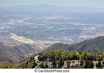View over San Bernardino - The view over San Bernardino from...