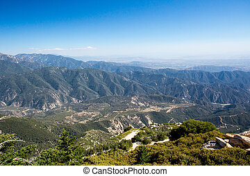 Keller Peak View - The view from Keller Peak observation hut...