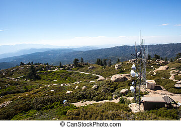 Keller Peak View - Keller Peak on a hot summers day near Los...