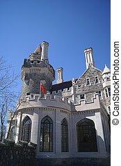 Canadá,  loma, castelo,  Casa,  Toronto