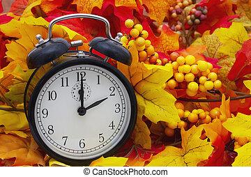 Autumn Time Change