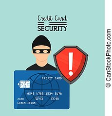 Credit card purchases design, vector illustration eps10...