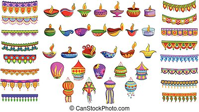 Decorative object for Indian festival - vector illustration...