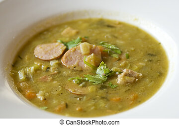 Peasoup - Green peasoup, ideal wintersoup