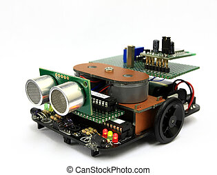 electronic experiment car