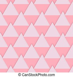 Vector background pink diamonds for Valentines Day