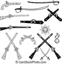 ancient weapons.eps