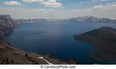 Timelapse Crater Lake National Park - Timelapse zoom out...
