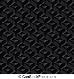 Black Seamless Texture Background
