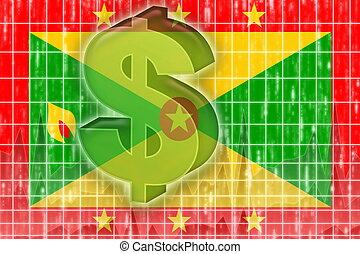 Flag of Grenada finance economy - Flag of Grenada, national...