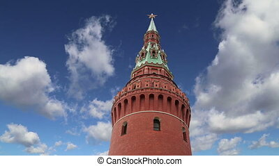 View of the Kremlin-Russia, Moscow - View of the Kremlin--...