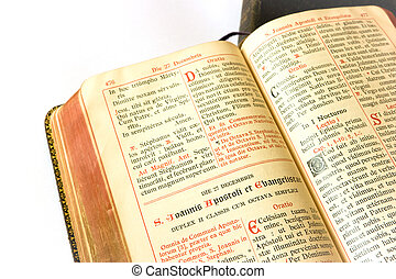 breviary - The book of Catholic Church liturgy