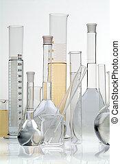 ガラス, 実験室