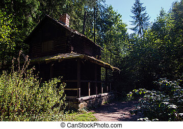 Cabin at Slovensky Raj, Tatras - Photo of a Cabin at...