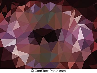 Consisting Abstract Pattern - Triangle Abstract shine background