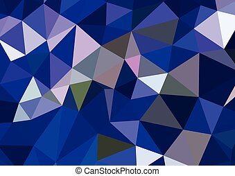 Abstract 3D geometric colorful background