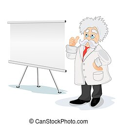 professor cartoon - Professor, cartoon, teaching, science...