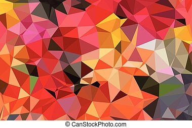 Abstract Geometric Polygonal Backgrounds. Vector