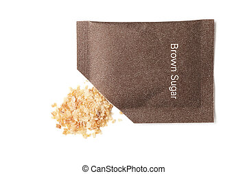 Brown sugar packet