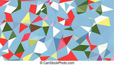 triangle abstract vector background / Vector Illustration
