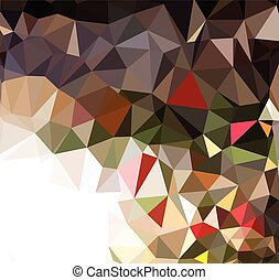 Abstract geometric triangles background / Vector Illustration