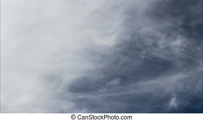 Time Lapse Clouds In Blue Sky - Time Lapse Of Clouds No...