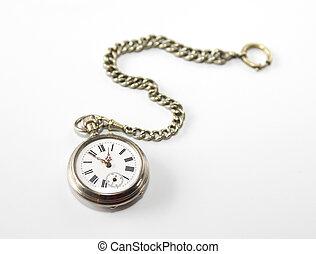 骨董品, ポケット, 腕時計