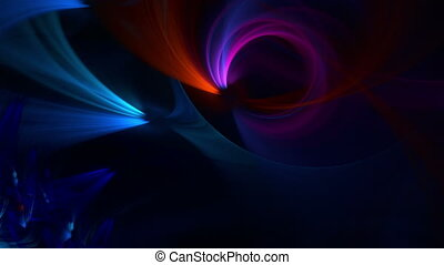 Abstract fractal background for creative design - Computer...
