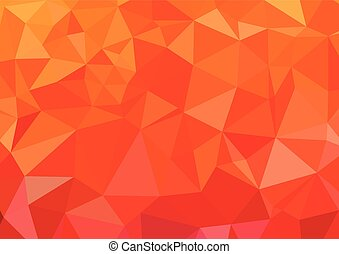 Abstract 3D Polygonal Vibrant mosaic background