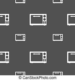 clip art vecteur de appareil four amusement cuisine heureux cartoon csp18200819. Black Bedroom Furniture Sets. Home Design Ideas