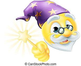 Wizard Emoji Emoticon