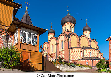 Kuremae Dormition Convent. Estonia - Cathedral in Puhtitsa...