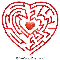 Heart - Maze like heart