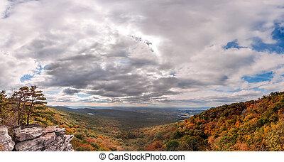 Appalachian Mountain Autumn Landscape - Autumn in the...