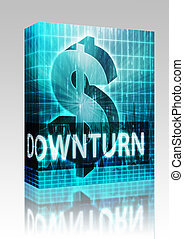 Downturn Finance illustration box package - Software package...
