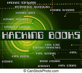 Hacking Books Represents Hackers Cyber And Textbook -...