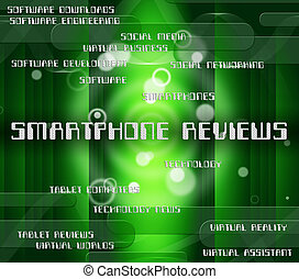 Smartphone Reviews Represents Evaluating Evaluate And Critic...