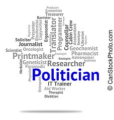 Politician Job Represents Member Of Parliament And Career -...