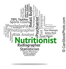 Nutritionist Job Represents Employee Nutrient And Sustenance...