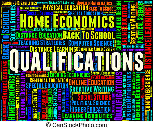 Qualifications Word Means Competent Adept And Certified -...