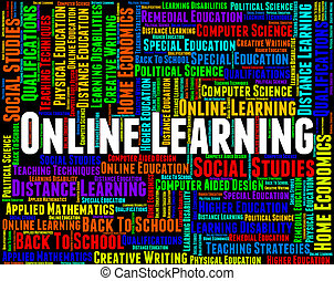 Online Learning Indicates World Wide Web And College